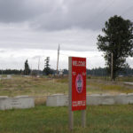 Illegal Cement Blocks at OLF Coupeville - NASWI disregards Parks Decision