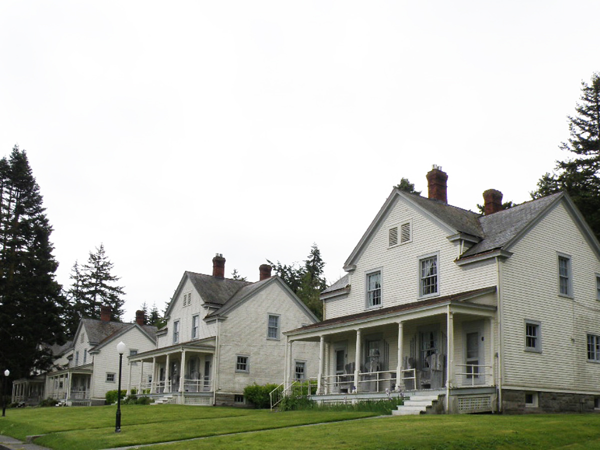 Fort Casey - Victorian Officer Homes