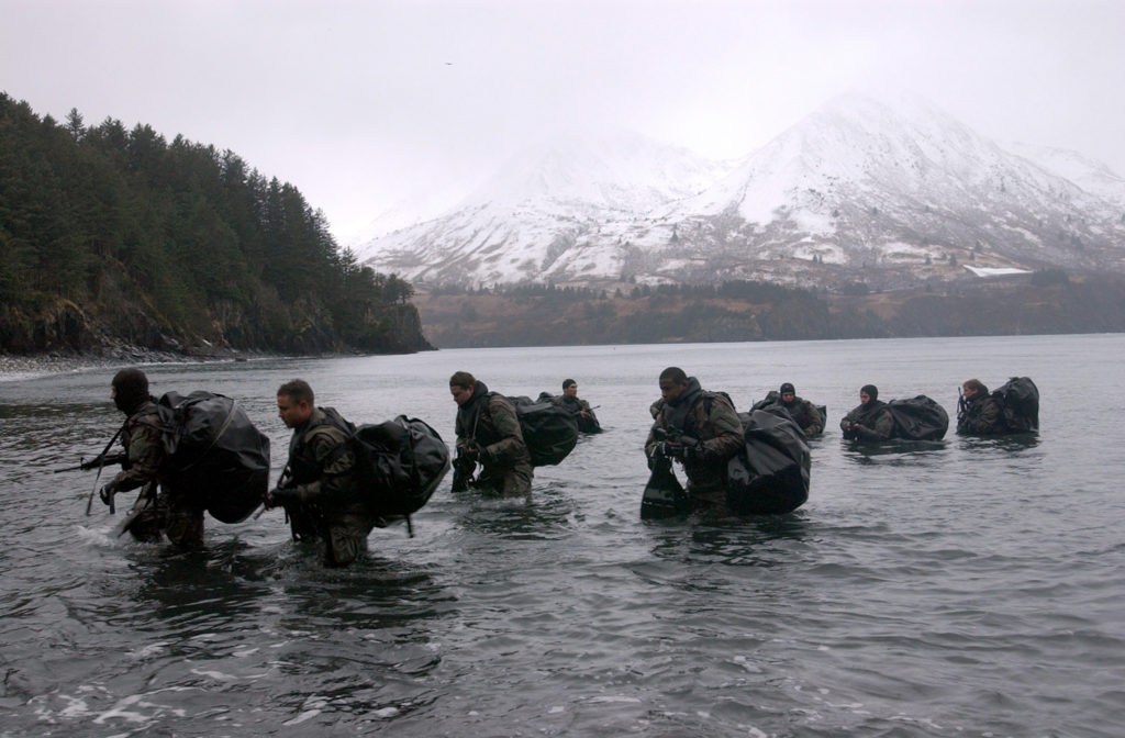 SEALS training in Public Parks - Militarizing Public Land
