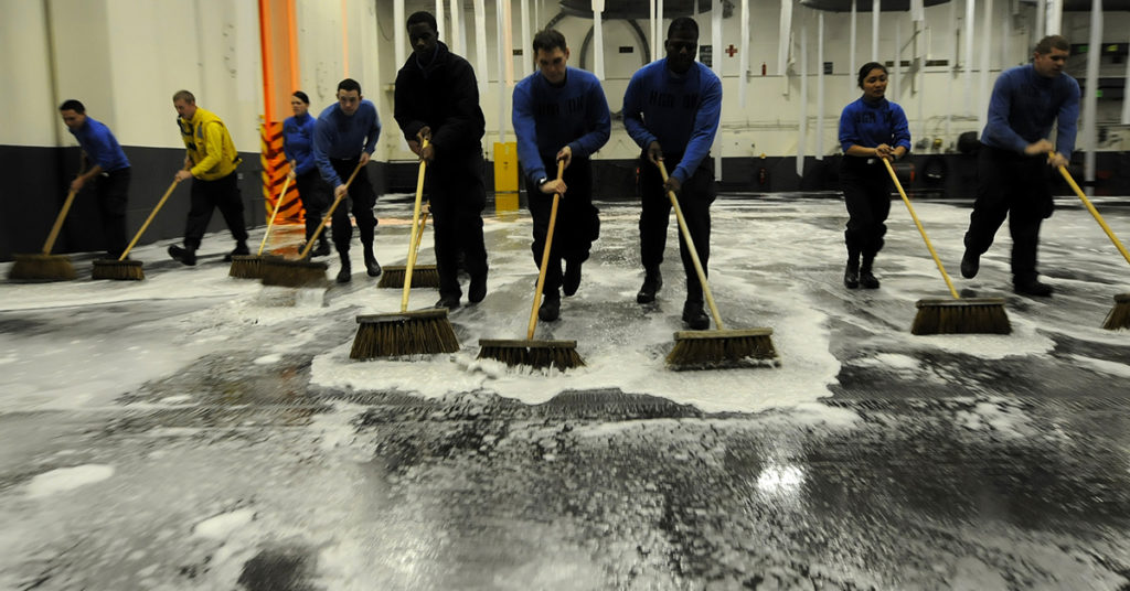 Navy sweeping up firefighting foam - water contaminants - federal study finally released