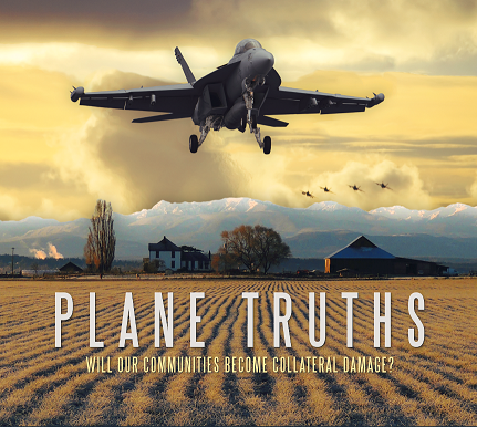 Plane Truths - Screening on April 15 2018 - 1pm- Clyde Theater - Langley WA