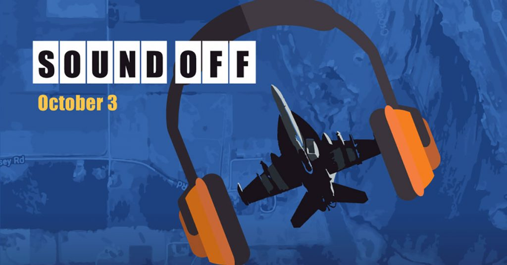Sound Defense Alliance - SOUND OFF Event - Oct 3 2018