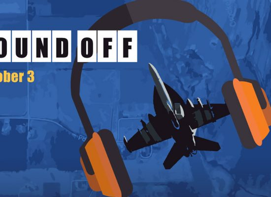 Oct 3 Sound Off – Our Chance to be Heard!