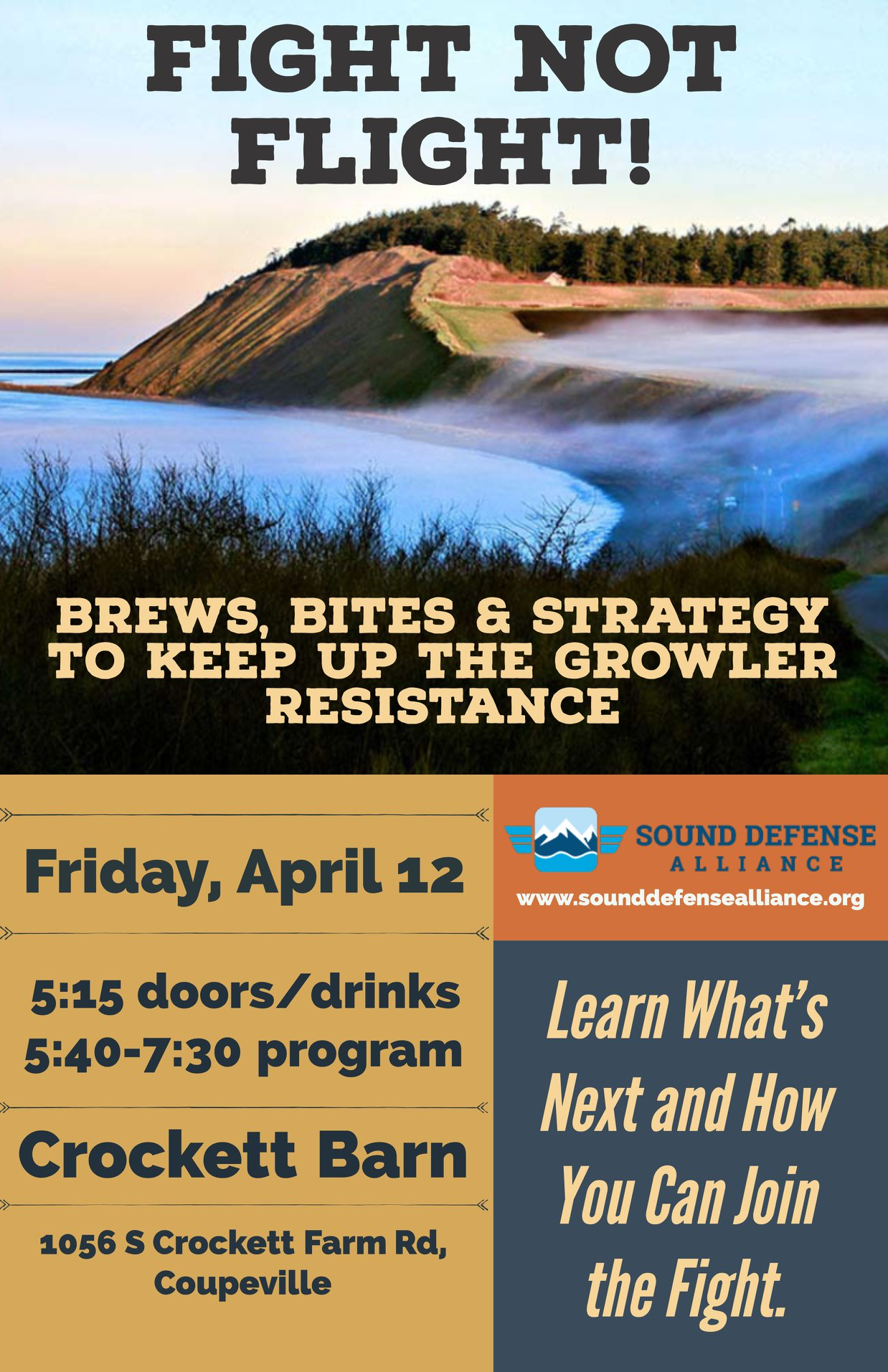 Fight the Growlers - April 12 2019 - Coupeville